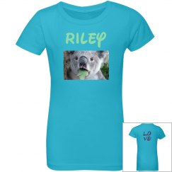 Riley's love shirt