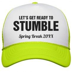 Ready to Stumble Drunk Neon