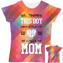 Basketball Mom Love All Over Print