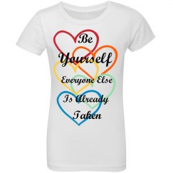 Be Yourself Inspirational T-Shirt