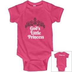 God's Little Princess Onesie
