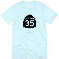 CA Highway 35 s/s - black ink