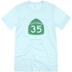 Men's triblend 35 - green ink