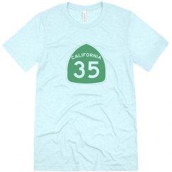 Men's triblend 35 - green ink