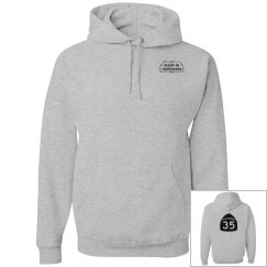 Basic 35 Hoodie - front & back