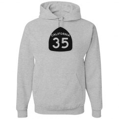 Basic 35 Hoodie - front only