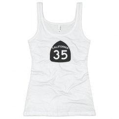 Ladies 35 tank top