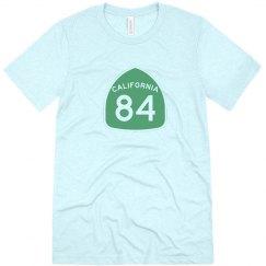 Men's triblend CA 84 - green ink