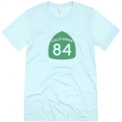 Men's triblend CA 84 - green ink