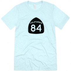 CA Highway 84 s/s - black ink