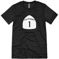 CA Highway 1 s/s - white ink