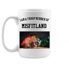 Large TROOP Member Coffee Cup