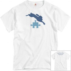 Leap For Autism Awarenss Tee