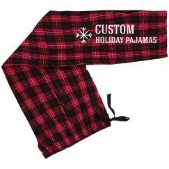 Custom Holiday Snowflake
