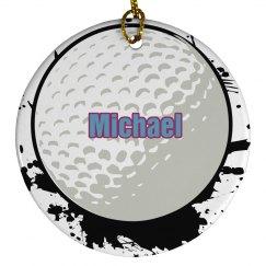 Golf Christmas Ornaments