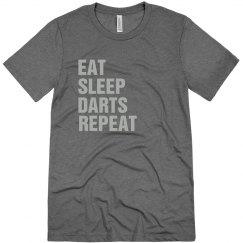 Eat sleep darts repeat