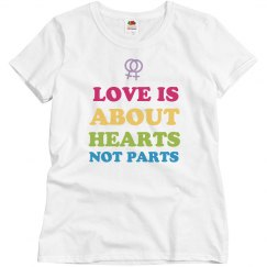 Love Is About Hearts Not Parts