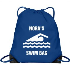 Nora's swim bag