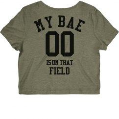 My Bae Plays Crop Top