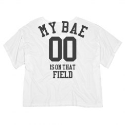 My Bae Plays Crop Top