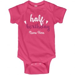 Six Month Baby Birthday