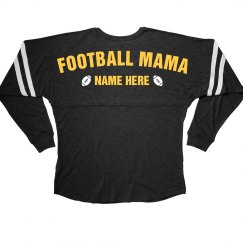 Football Mama Custom Fan Shirt