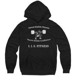 Sweat Builds Muscle hoodie