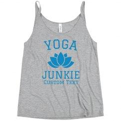 Yoga Junkie Custom Tank