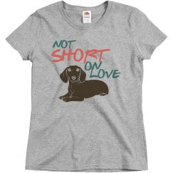 Not short on love
