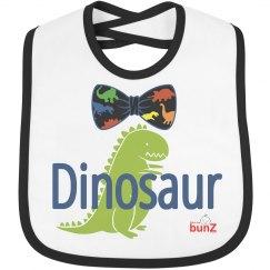 Baby boy Dinosaur Bib