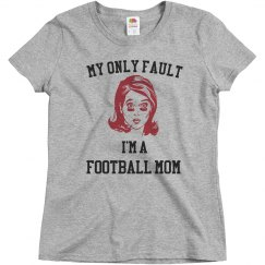 Only fault football mom