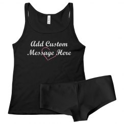 Add Custom Message To Underwear