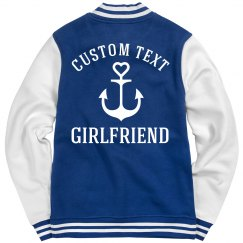 Custom Text Military Girlfriend
