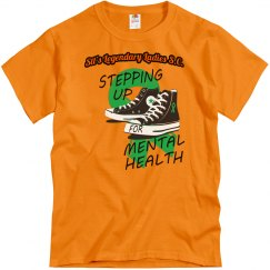 #Mental Health 2021 - Steppin Up Orange