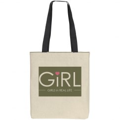 GiRL Canvas Tote