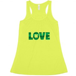 Love St Patricks Tank Top