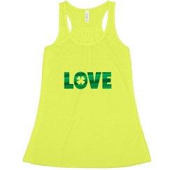 Love St Patricks Tank Top