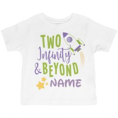 Two Infinity And Beyond Birthday
