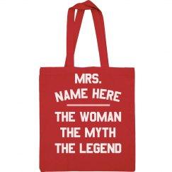 Custom Name Legendary Teacher