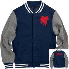 East view patriots men's jacket.