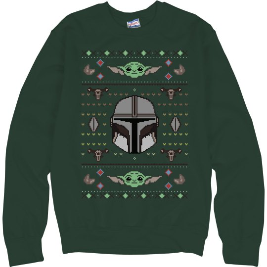 Baby And Helmet Mando Sweater