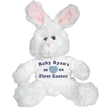 Baby Boy's First Easter Plush