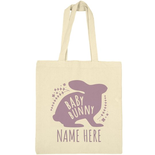 Baby Bunny Easter Tote