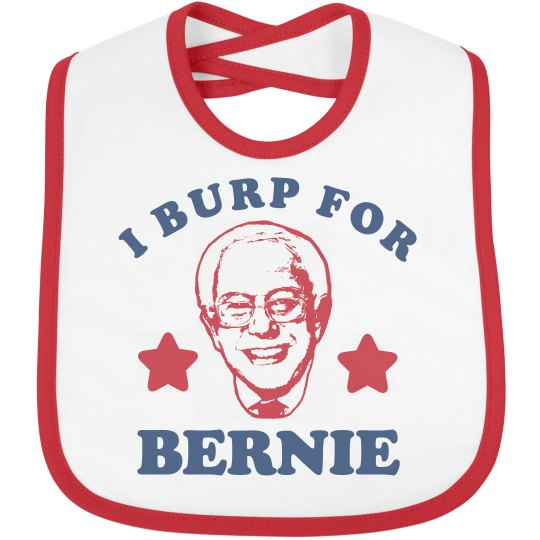 Baby Burp for Bernie