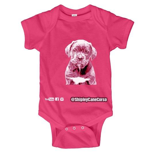 Baby Cane Corso Onesie