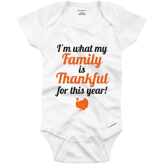 Baby First Thanksgiving