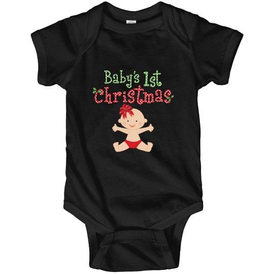Baby Girl 1st Christmas