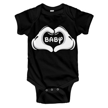 Baby Heart Hand Gloves