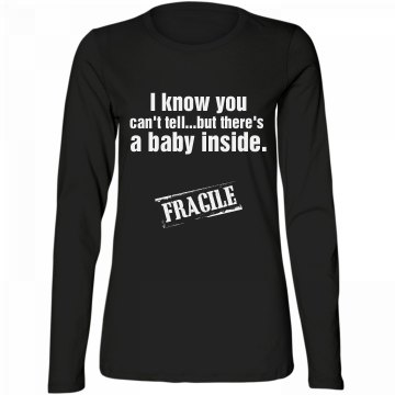 Baby inside!