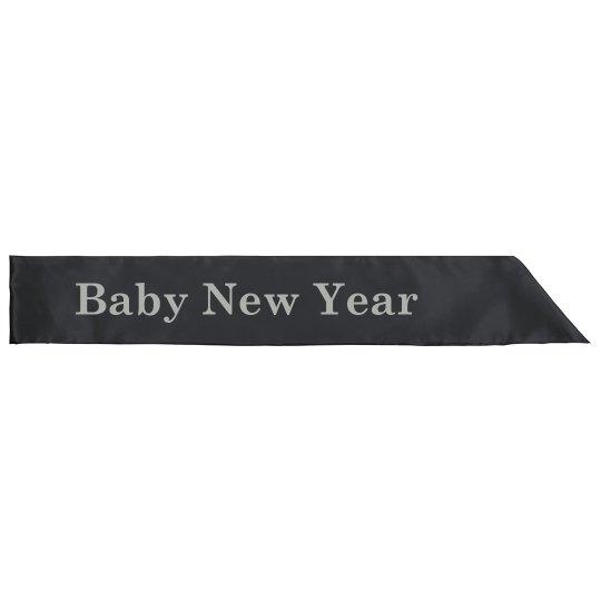 Baby New Year Sash